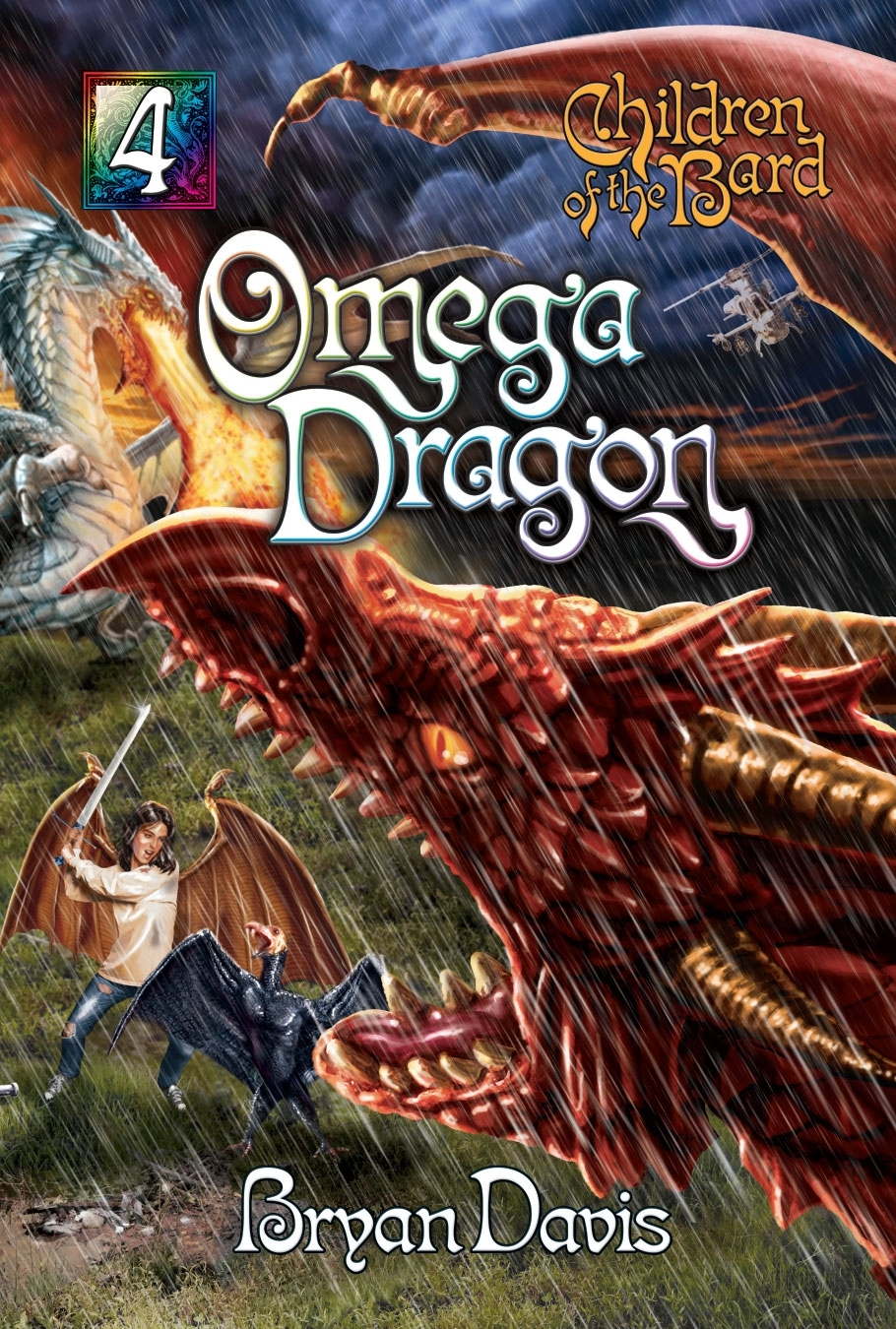 Omega Dragon Front Cover