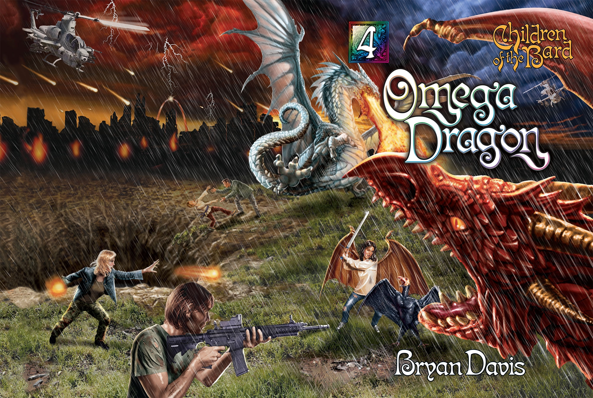 Omega Dragon Full Cover Without Back Text